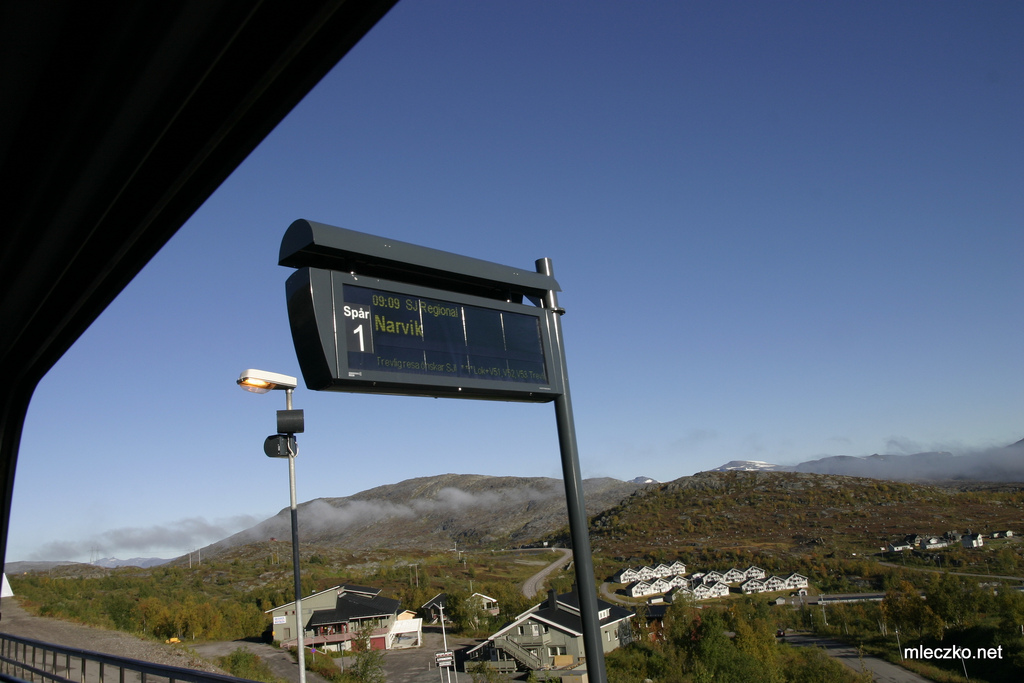 The railtrack to Narvik