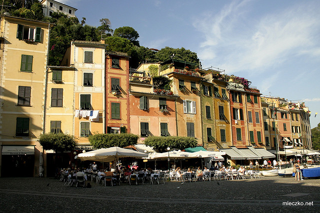 Portofino – this is what I call a posh place