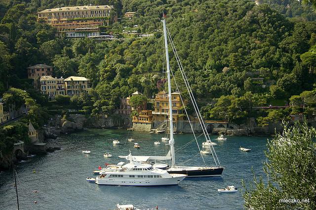 Yacht in Portofino