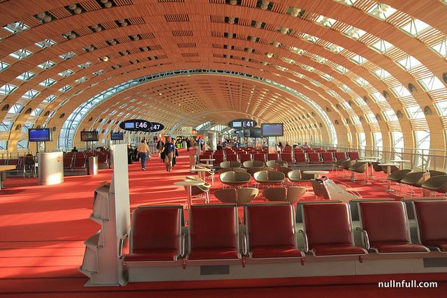 Charles de Gaulles airport in Paris