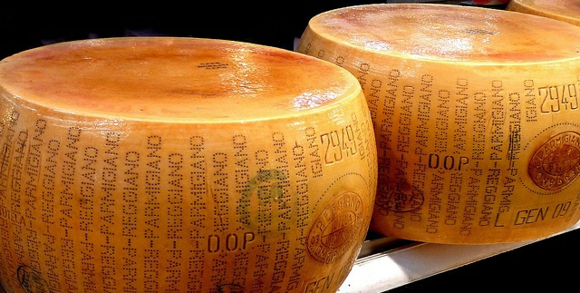 Why parmesan is not Parmigiano?