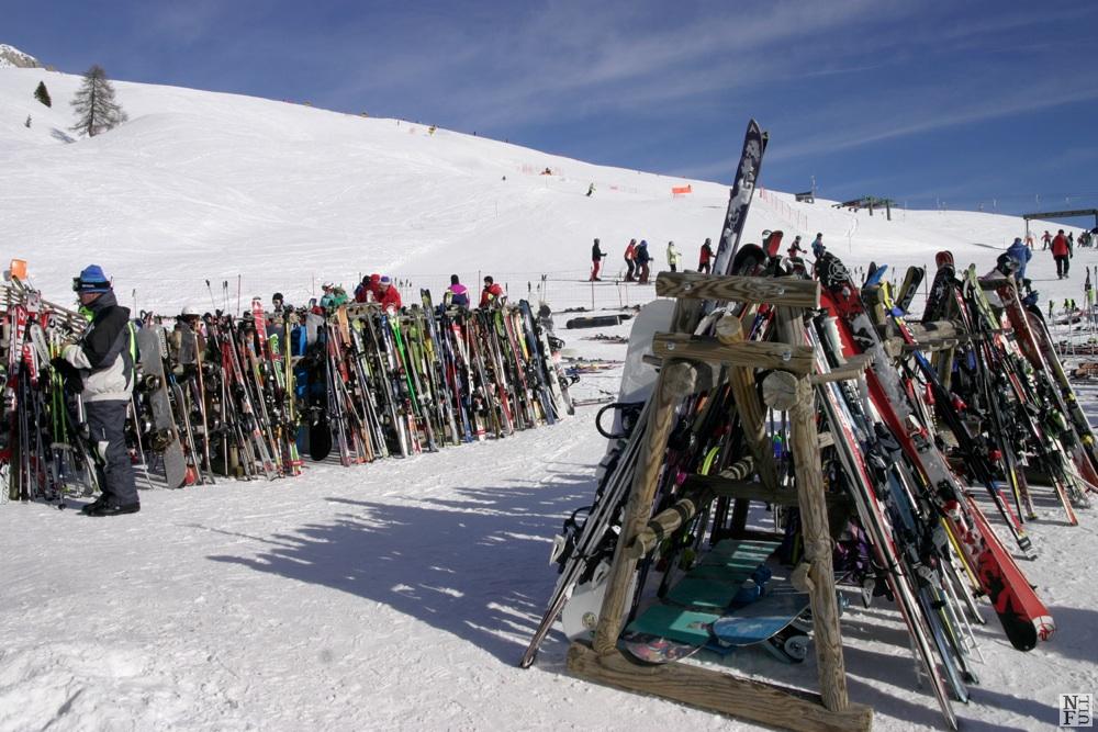 Ski resort Passo San Pellegrino