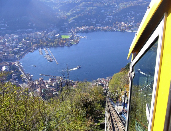 Como seen from Brunate