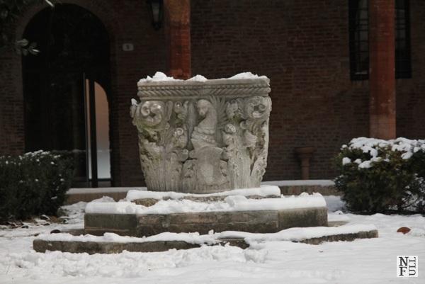 Ferrara under snow