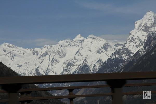 The views along the Italian autostrada
