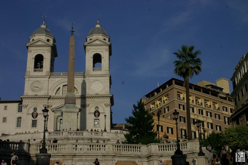 Trinita dei Monti, Piazza di Spagna