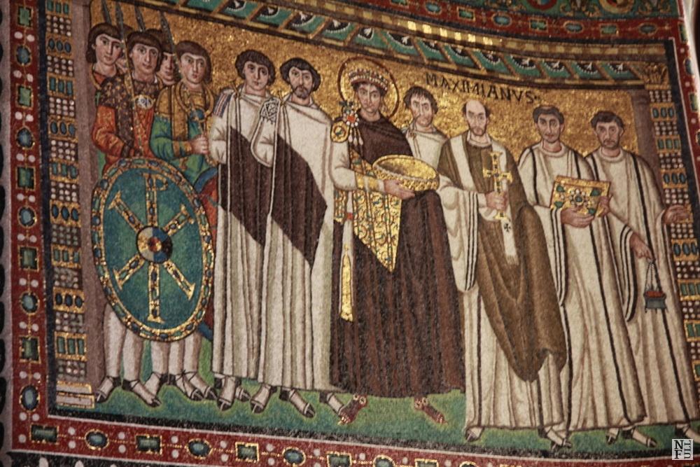 Mosaic of Basilica di S. Vitale