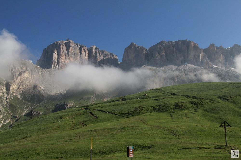 View from Passo Pordoi