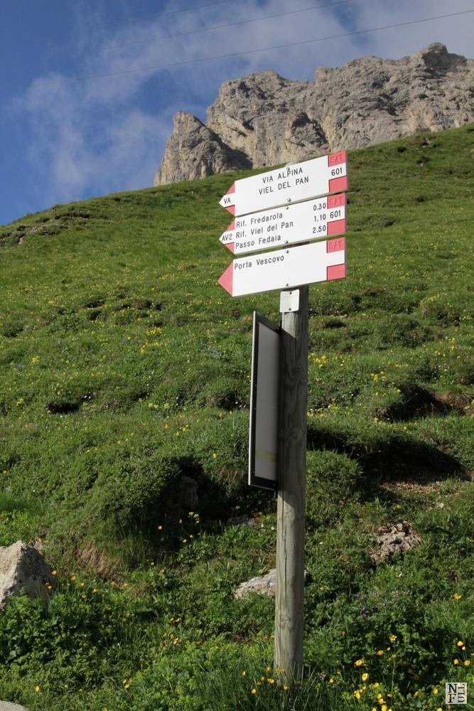 Starting from Passo Pordoi