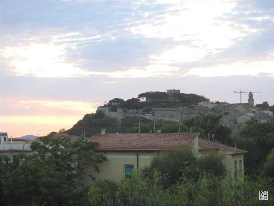 Sunset over Castiglione della Pescaia