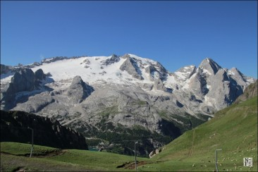 The Marmolada Glacier