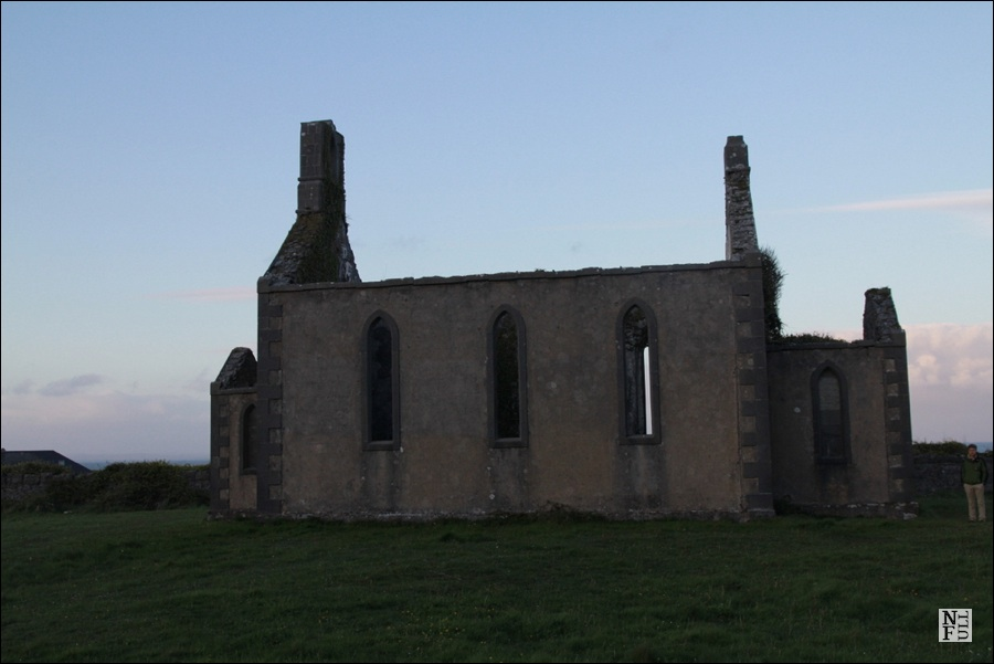 Aran Islands church