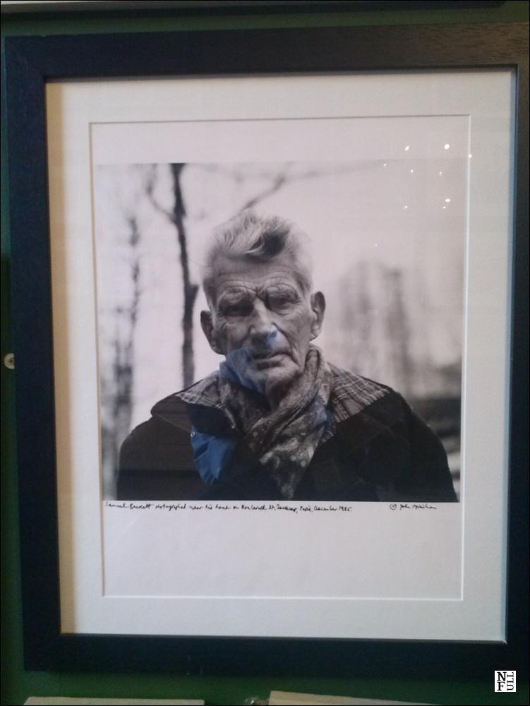 Samuel Beckett by John Minihan