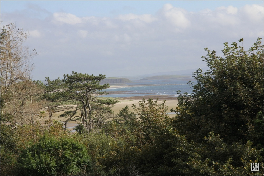 View from Mulranny Park Hotel
