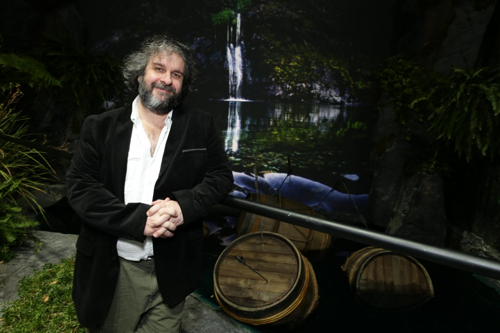 Book of New Zealand - Peter Jackson on Forest River Pelorus