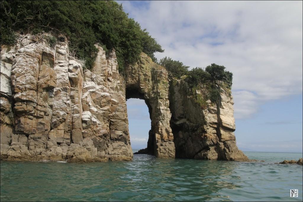 Granite rocks, Abel Tasman National Park