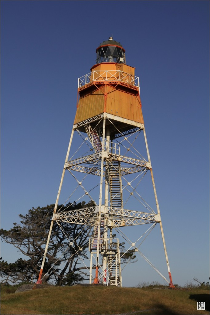 The Farewell Spit lighthouse