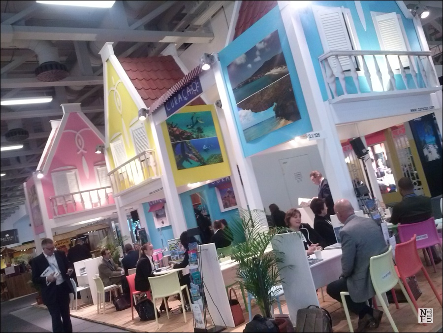 Curacao Stand at ITB Berlin