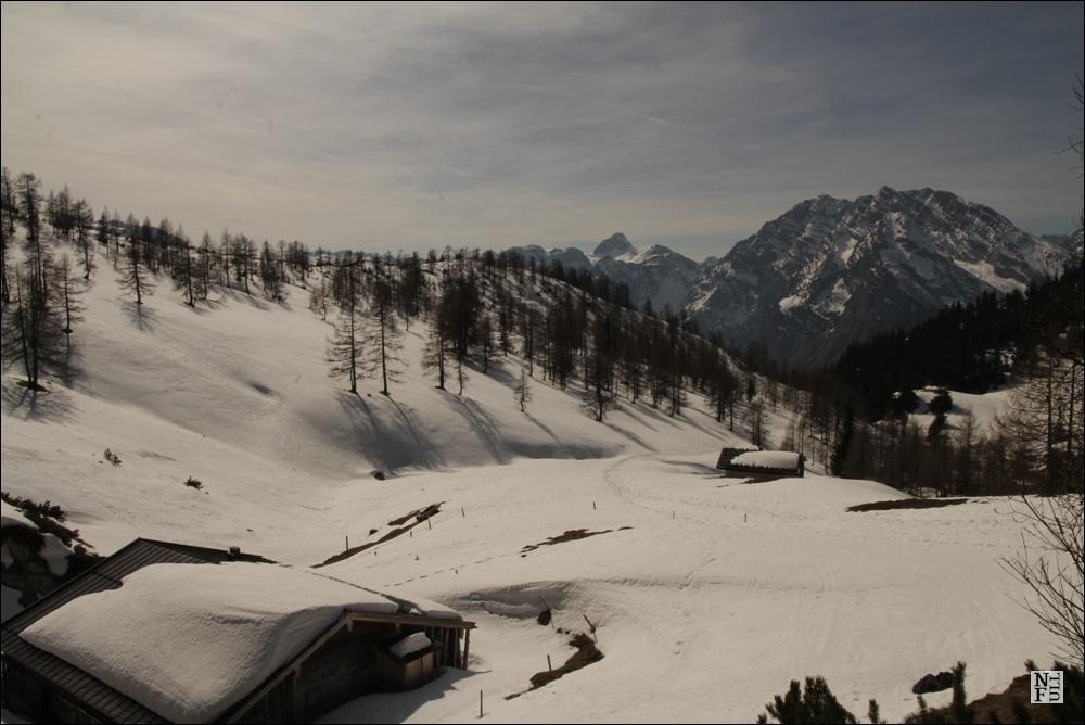 Deep winter in Strubalm valley