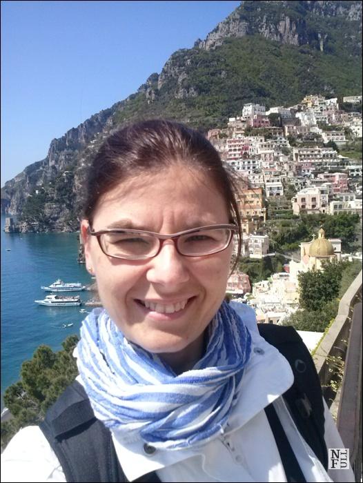 Happy me in Positano!