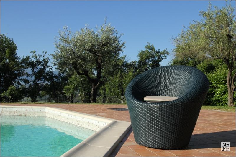 Swimming pool, Casale degli Ulivi, Marche, Italy