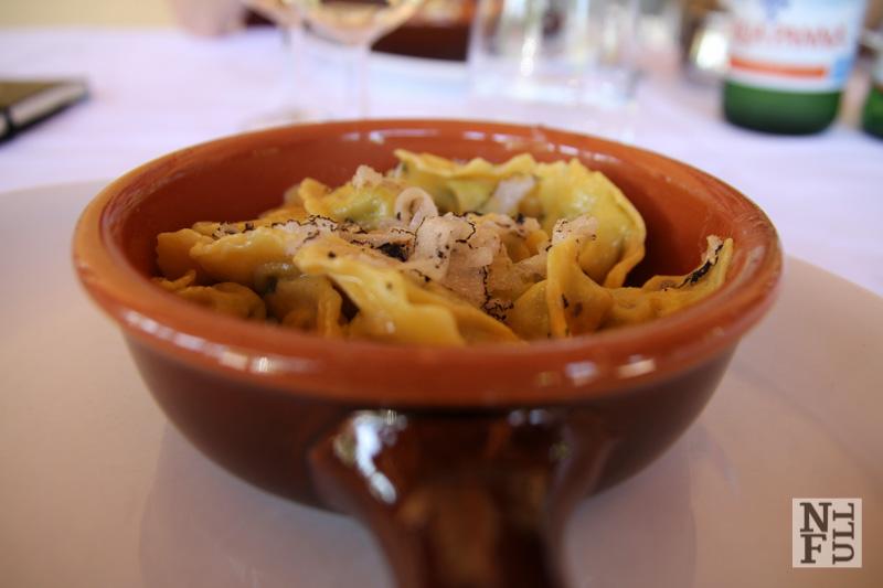 Truffles in Ristorante Lampino, Acqualagna, Marche