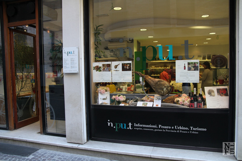 Exterior of In.PU.t in Pesaro, Marche, Italy