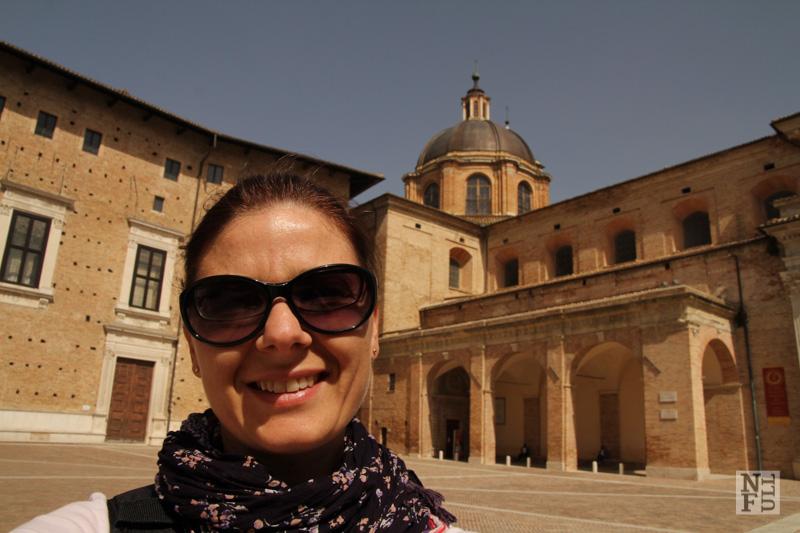 Downtown Urbino, Marche, Italy