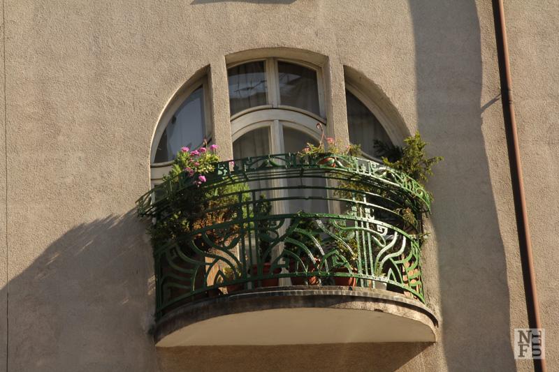 A balcony, Jezyce Poznan, Poland