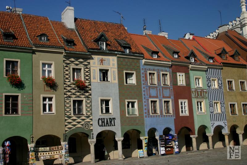 Central square - Stary Rynek, Poznan, Poland