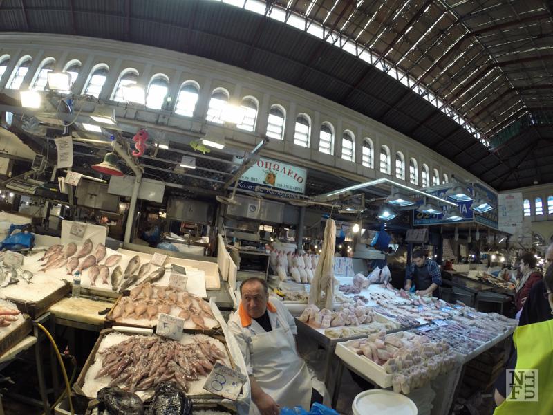 Fish Market, Athens, Greece