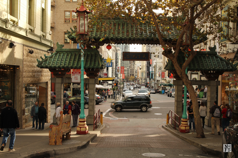 Gate to Chinatown in San Francisco, USA