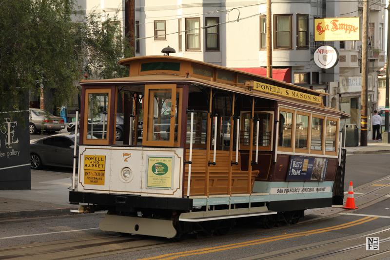 Cablecar - a true landmark of San Francisco