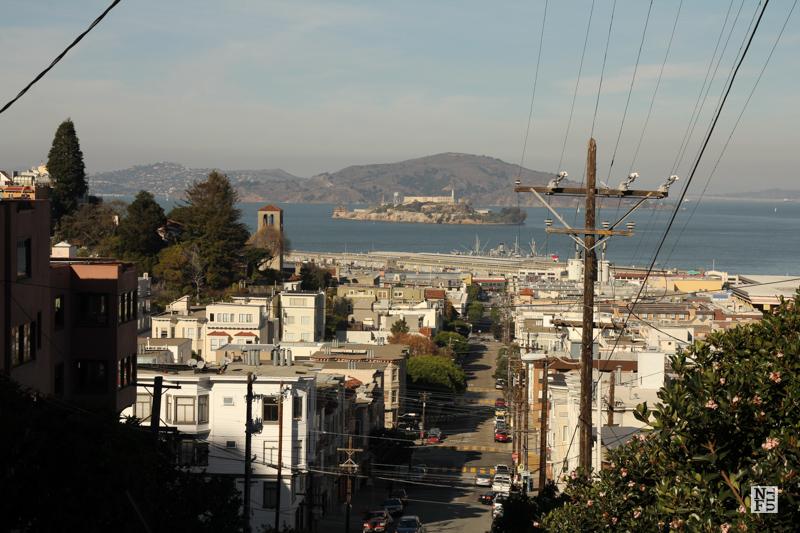 The Bay and Alcatraz in San Francisco