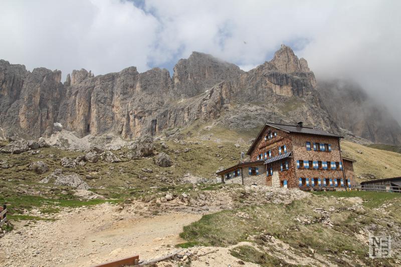 Rifugio Roda de Vael, Dolomites, Italy