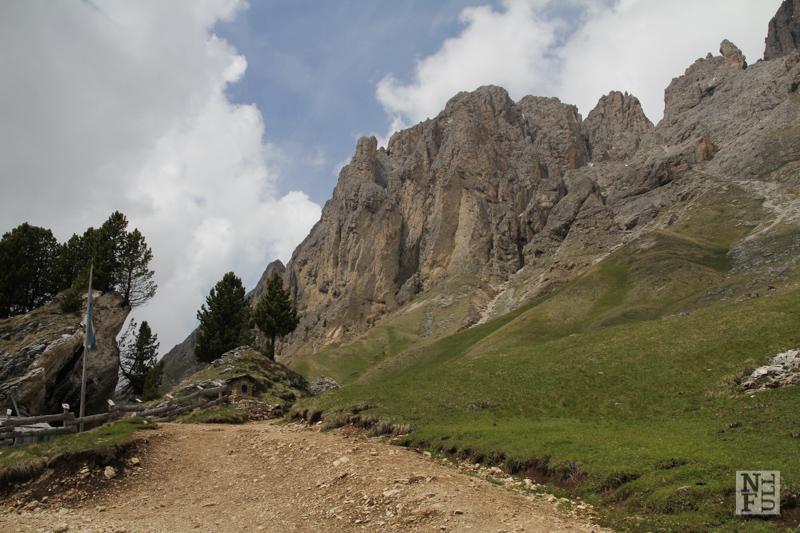 Sassopiatto massif. Dolomites, Italy.