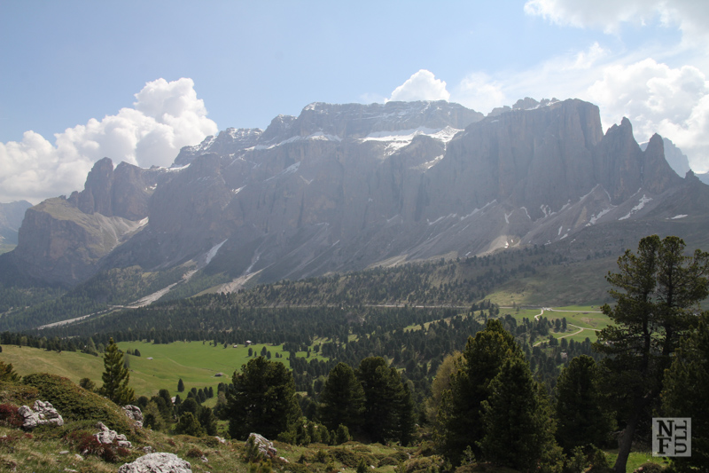 Gruppo Sella. Dolomites, Italy.