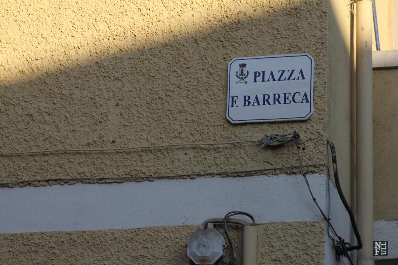 The town wakes up. Fluminimaggiore, Sardinia, Italy.