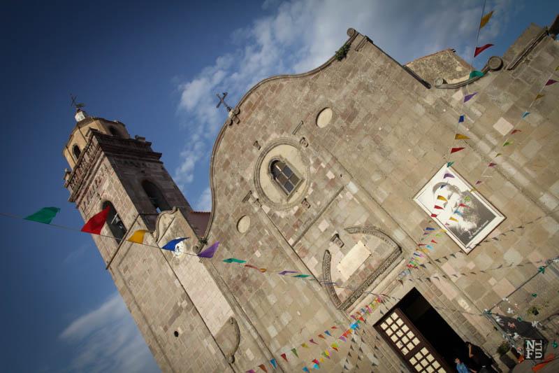 Gesturi, a small town, Sardinia, Italy.