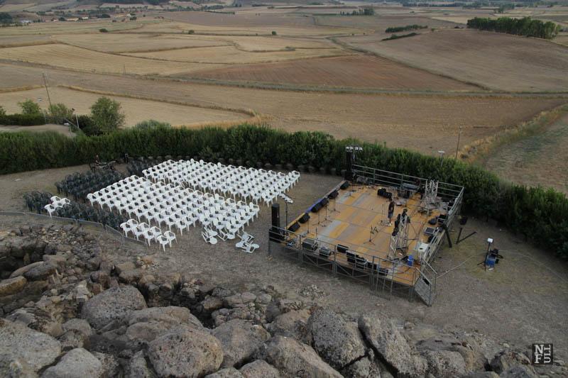 Barumini - a concert preparations.
