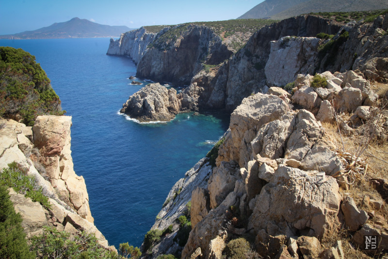 Sardinia dramatic coastline.