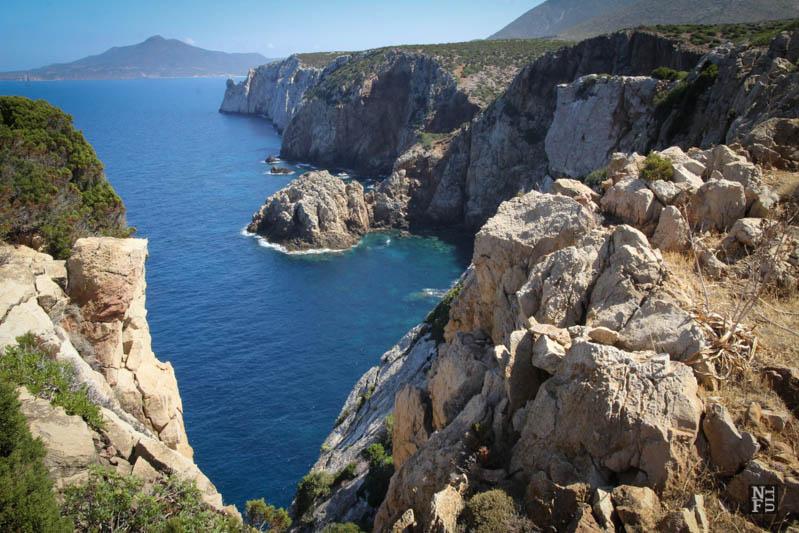 Trekking in Sardinia.