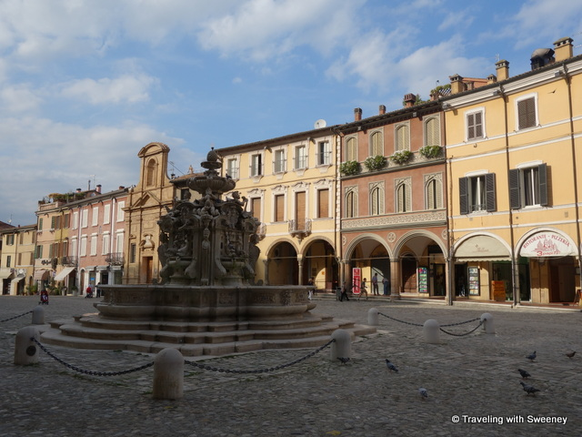 Cesena Downtown - photo by Cathy Sweeney