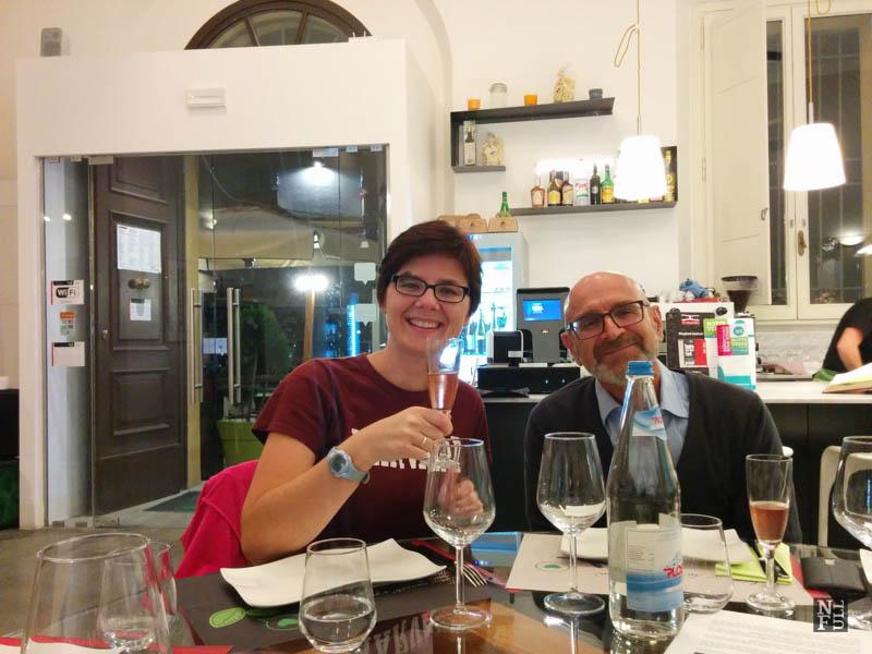 Fabio co-owner, Con Basilico al Cuore, Forli, Italy