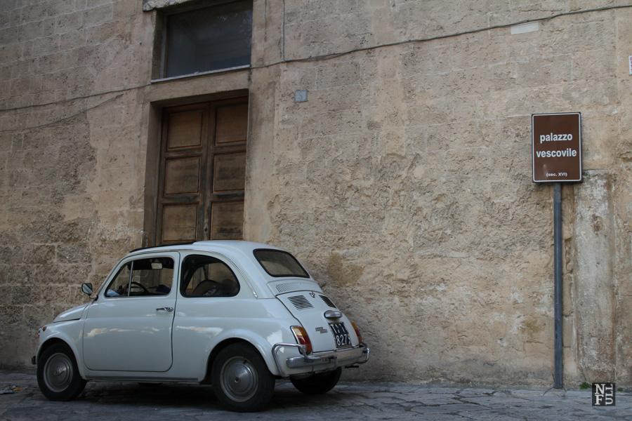 Vecchio Fiat 500, Oria, Puglia, Italy