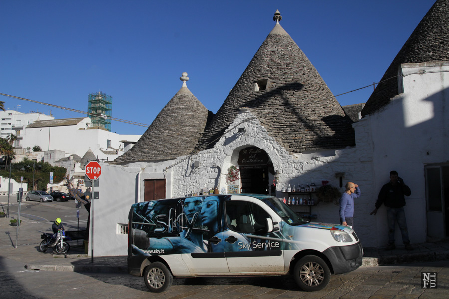 Alberobello, UNESCO site of trulli, Puglia, Italy