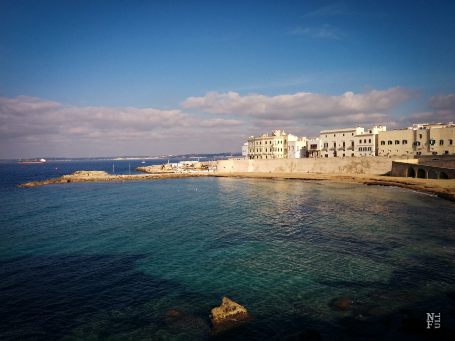 Gallipoli in winter time, Puglia, Italy