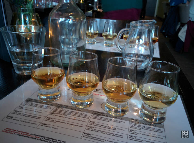 You know what you are drinking. Whisky tasting, Edinburgh, Scotland