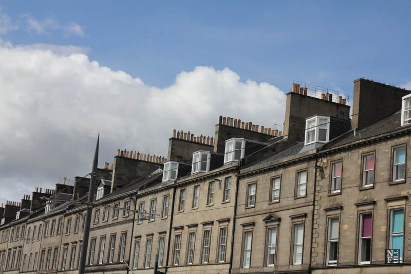 Edinburgh roofs, Scotland