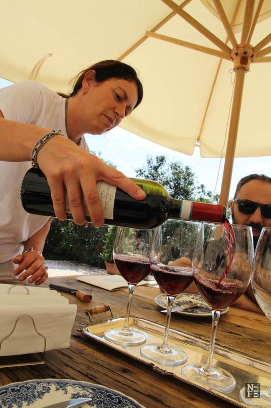 Ilaria - the co-owner of Tenuta Santa Maria Valverde, Valpolicella, Italy
